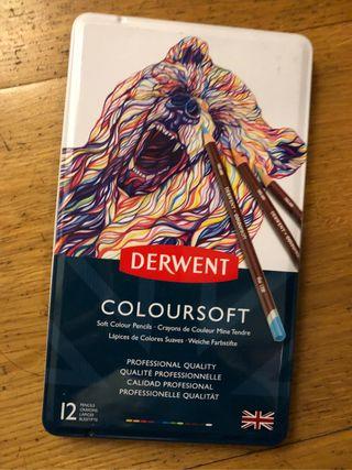 Lápices de Colores Derwent Coloursoft
