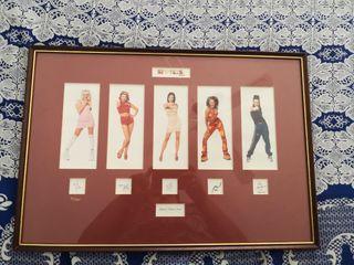 cuadro Spice Girls fotos y firmas.. limitadas