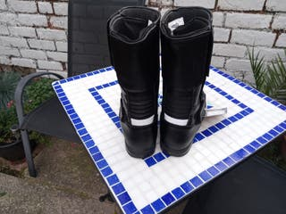 Tuzo Armoured motorcycle boots