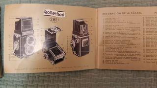 Cámara de fotos Rolleiflex 2.8