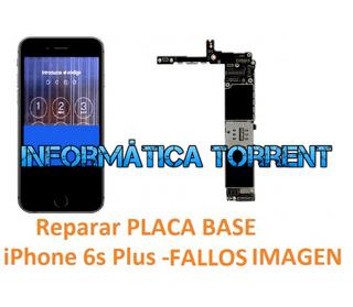 Reparar Placa Base IPhone 6s Plus FALLOS EN PANTAL