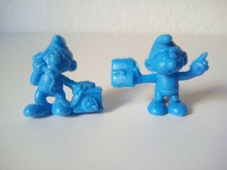 Figuras PVC Pitufos Dunkin Phoskitos Años 90. Lote