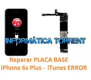 Reparar Placa Base IPhone 6S Plus ERRORES ITunes