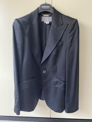 Chaqueta tipo blazer Zara negra
