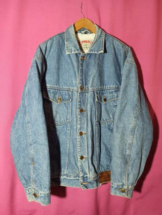 chaqueta vaquera borrego vintage Pike 80s/90s