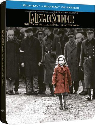LA LISTA DE SCHINDLER STEELBOOK BLU-RAY NUEVO
