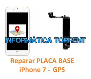 Reparar Placa Base IPhone 7 GPS