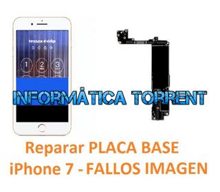 Reparar Placa Base IPhone 7 FALLOS EN PANTALLA
