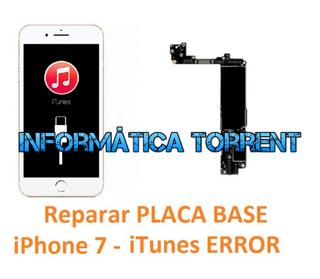 Reparar Placa Base IPhone 7 ERRORES ITunes