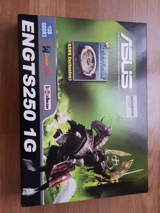 Tarjeta Gráfica ASUS ENGTS250 1GB DDR3. GeForce GT