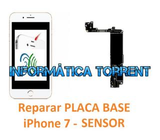 Reparar Placa Base IPhone 7 SENSOR