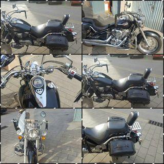 moto custom kawasaki vulcan 900cc