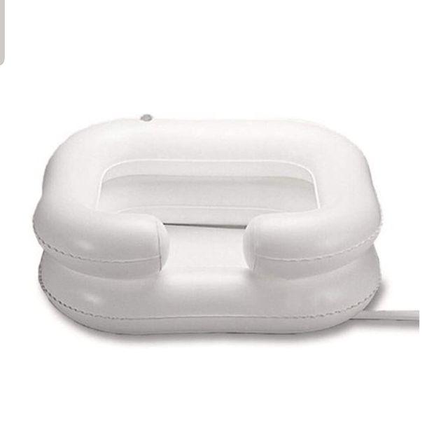 lavacabezas hinchable, ducha portátil
