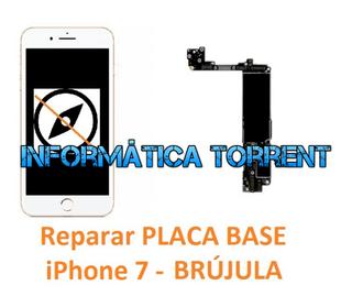 Reparar Placa Base IPhone 7 BRÚJULA