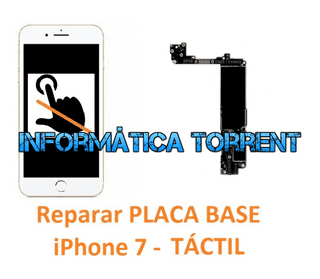 Reparar Placa Base IPhone 7 TÁCTIL