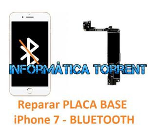 Reparar Placa Base IPhone 7 BLUETOOTH