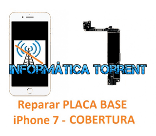 Reparar Placa Base IPhone 7 COBERTURA