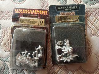 Warhammer y Warhammer 40.000 Figuras de rol