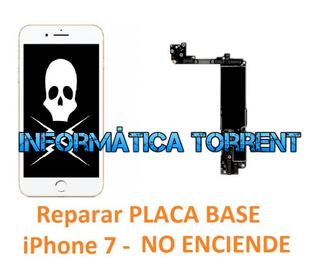 Reparar Placa Base IPhone 7 NO ENCIENDE