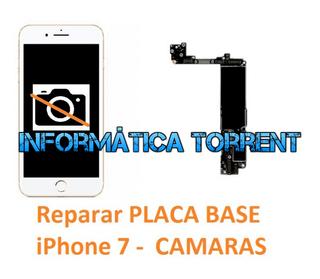 Reparar Placa Base IPhone 7 CÁMARAS