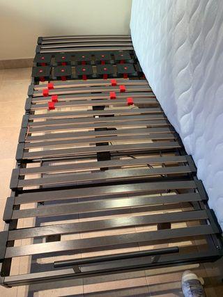 Cama motorizada Pardo + colchón Beds NUEVO