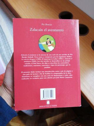 """Libro """"Zalacaín el aventurero"""""""