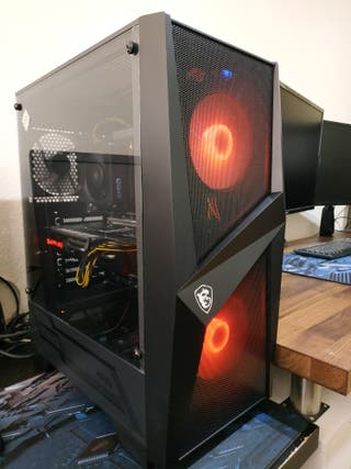 Ordenador PC gaming Ryzen 7 16 GB SSD + 1TB RX 570