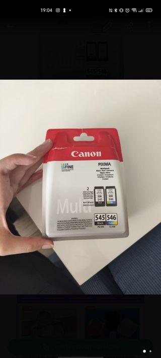 CARTUCHO 545 Y 546 CANON