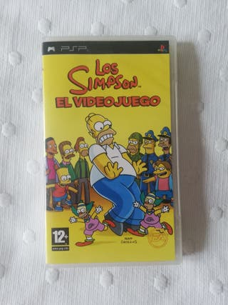 PSP juego The Simpson