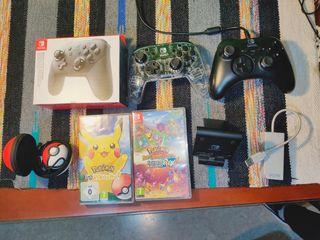 Nintendo Switch Juegos y Accesorios