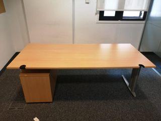 Mesas de oficina con cajonera