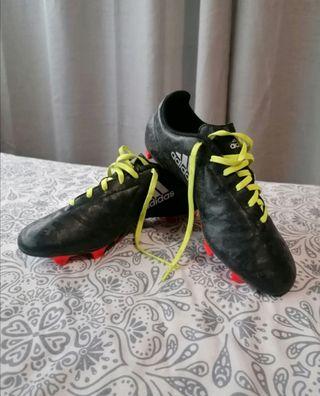 Botas de tacos negras Adidas