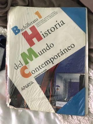 historia del mundo contemporáneo primero bach