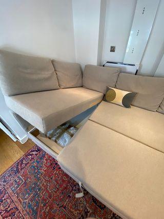FRIHETEN corner sofa-bed with storage E1 5AA
