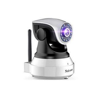 Camara IP HD Vision Nocturna por Infrarrojos Wifi