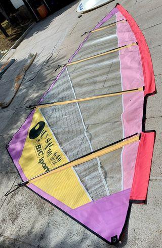 Vela windsurf 6.40 Bic