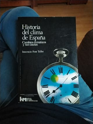 historia del clima de España