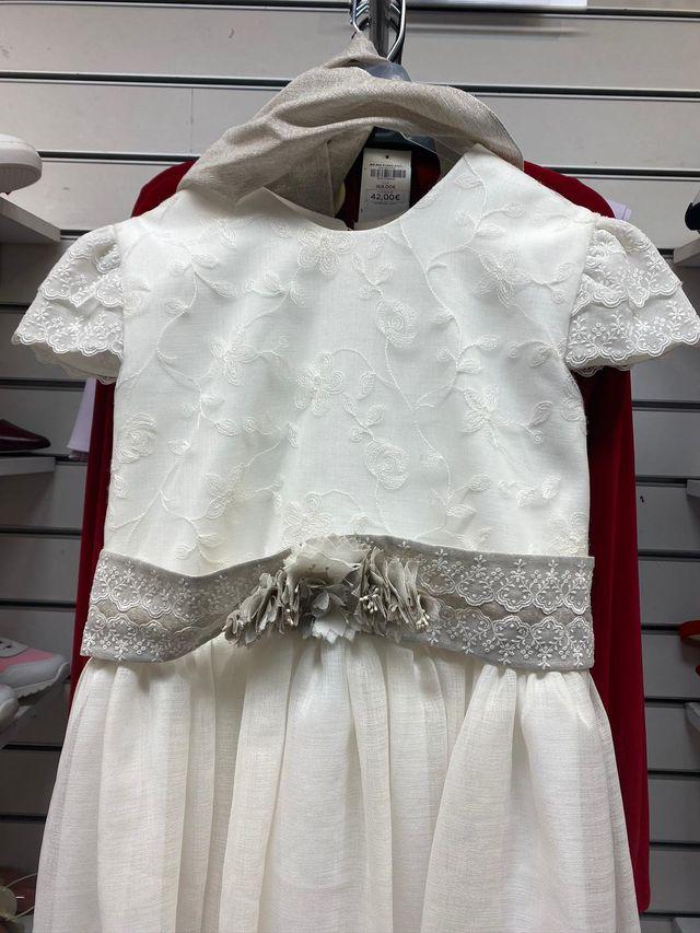 Vestido de comunión.