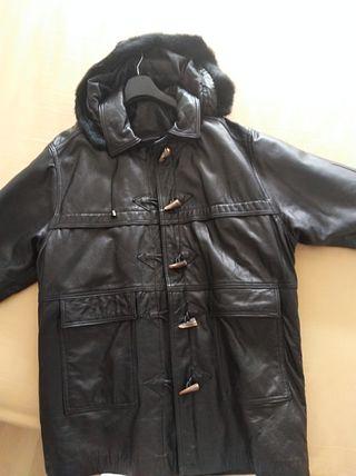 Abrigo piel, Sin usar
