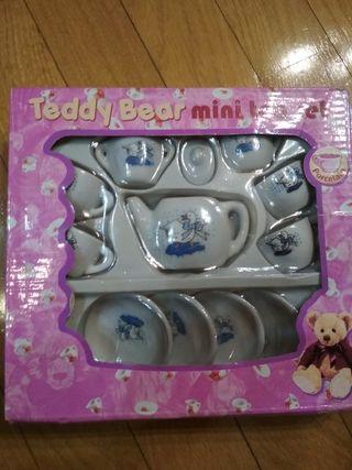 juguete mini set de te