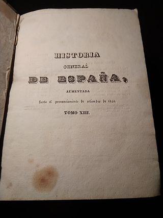 Libro, Historia de España 1840