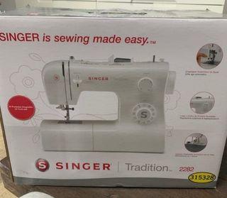 Nuevo máquina de coser singer 2282