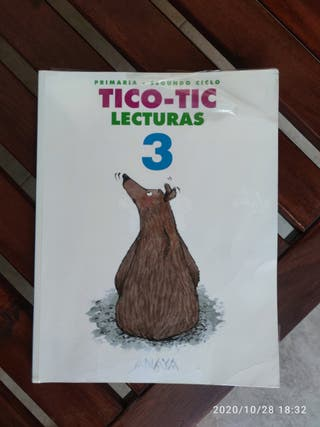Libro Tico Tic 3, Anaya