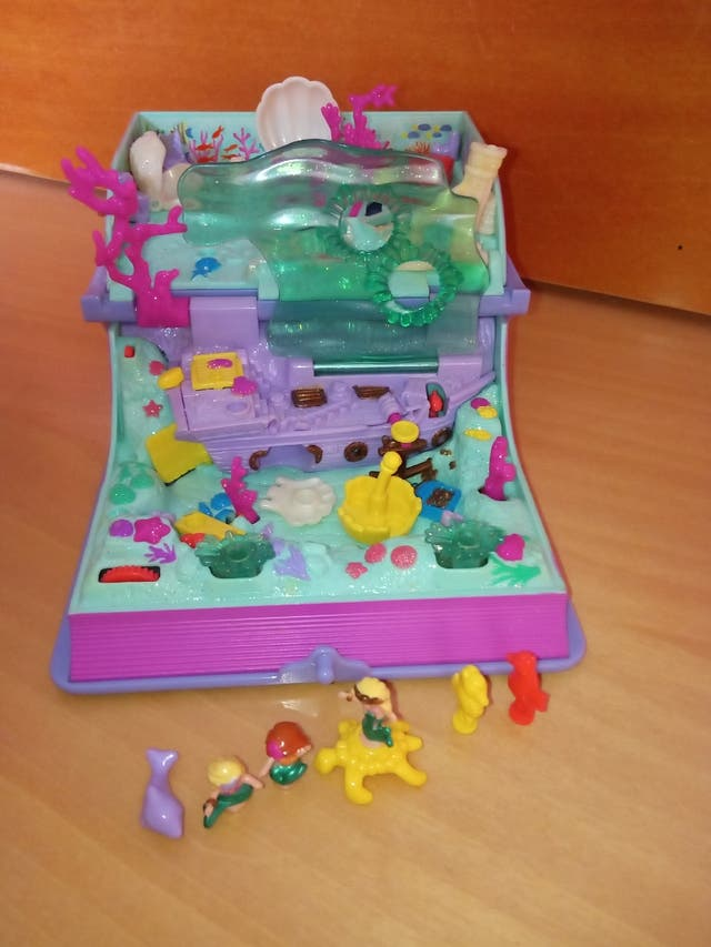VENDO POLLY POCKET SIRENITA FONDO DEL MAR