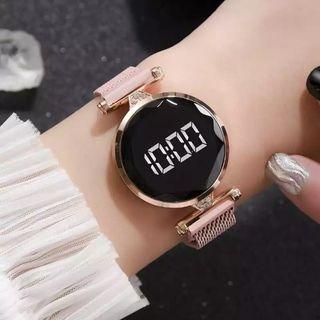reloj de pulsera magnetico Led de lujo de cuarzo