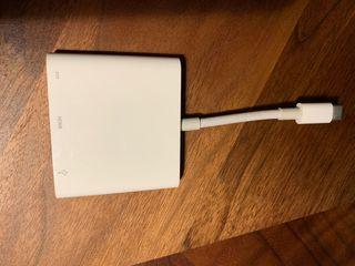 Apple adaptador HDMI usb c