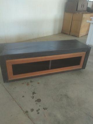 mueble bajo para televisión