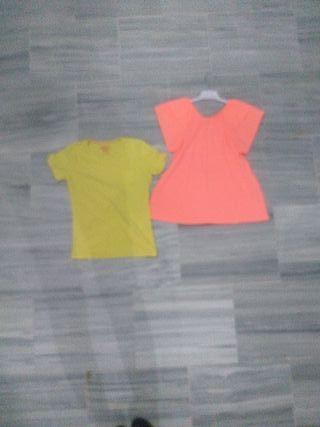 pack de dos camisetas talla 12 años