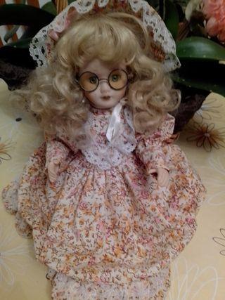 muñeca de porcelana Black Friday 50%
