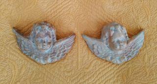 Ángeles de cerámica